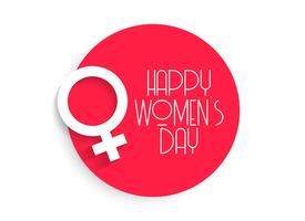 stylish happy women's day background