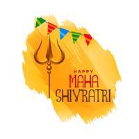 hindoe maha shivratri festivai achtergrond