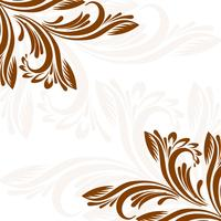 Illustrazione floreale elegante decorativa della priorità bassa