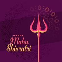 elegante maha shivratri festival achtergrond