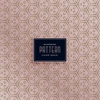Fondo moderno patrón abstracto hexagonal