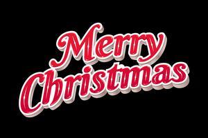 God jul Typografi