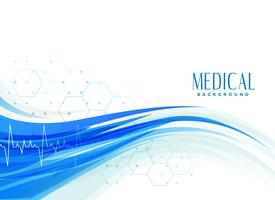 diseño de fondo salud médica abstracta
