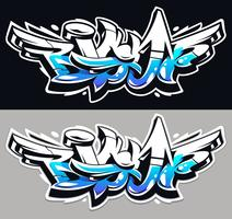 Big Up Graffiti Vector letras