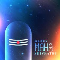 universums bakgrund med Lord Shiva idol