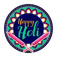feliz holi celebración saludo fondo