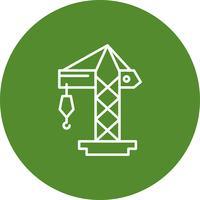 Vector kraan pictogram