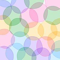 design de fond des cercles colorés