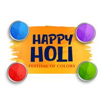 happy holi festival of colors celebration background