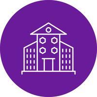 Vektor Gebäude Symbol
