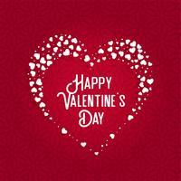 conception de carte de voeux pour la Saint Valentin