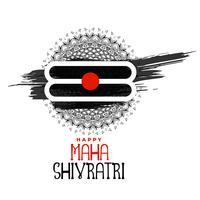 maha shivratri hindoe religieuze festival achtergrond