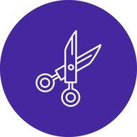 Vector scissor icon