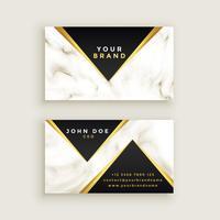 modern premium marble business card design