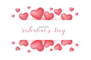 lovely valentines day greeting background