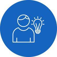 Vector idee pictogram