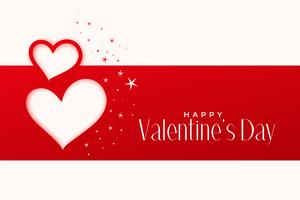 happy valentines day greeting hearts design