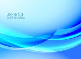 blå abstrakt vågig glänsande bakgrund