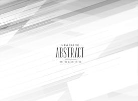 abstrakt vit bakgrund med geometriska linjer