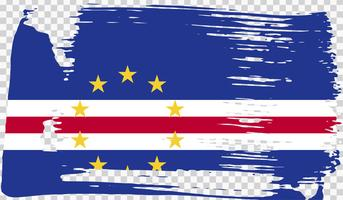 Grounge-styled flag, vector illustration