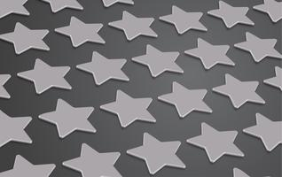 3D star rating or background, vector illustartion