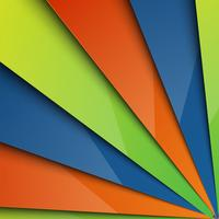 Layered abstract colorful background,, vector