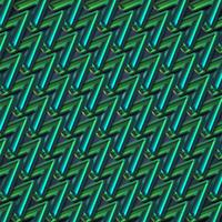 Abstrait coloré zigzag vert, illustration vectorielle