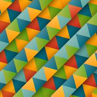 Triangles colorés abstraits, vector