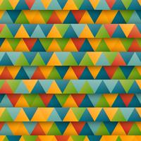 Abstract colorful triangles, vector