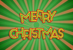 'Merry Christmas' font collection, vector