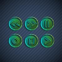 Botões para jogadores, vetor