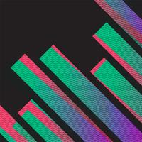 Colorful neon abstract background, vector