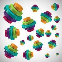 Progettazione di vettore infographic 3D