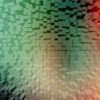 Abstract background with colorful blocks, vector