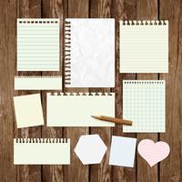 Etiquetas de papel comercial para publicidad o para páginas web, vector