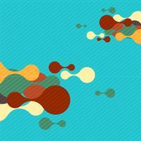 Färgrik bakgrund för reklam, vektor