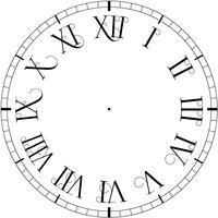 Vector vintage orologio