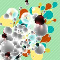 Colorful background for advertising, vector