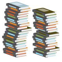 Libros coloridos, vector