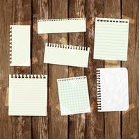 Zakelijke papieren labels voor reclame of voor webpagina's, vector