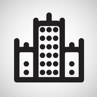 Icône de logement, vector