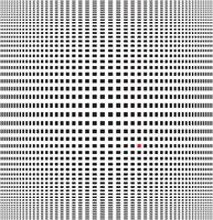 Vector illustration of optical illusion black and white background