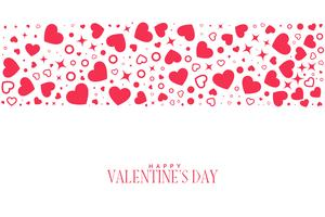 hearts pattern background for valentines day