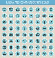 Media- en communicatiepictogrammen