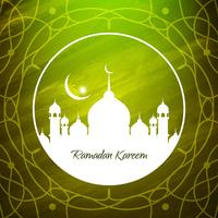 Fundo abstrato Eid Mubarak
