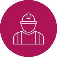 Vektor Arbeiter Symbol