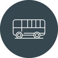 Icona del bus vettoriale
