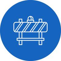 Vektor-Barriere-Symbol