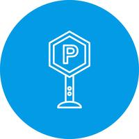 Vector parkeren pictogram