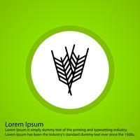 icône de vecteur de récolte
